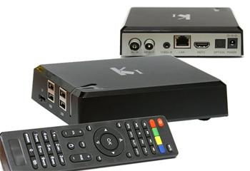DI-WAY AND-4 Quad Core K1, Android Media Player + DVB-T2 tuner