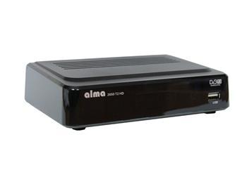 ALMA 2650 T2 HD DVB-T2 přijímač