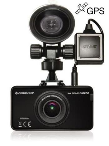Kamera do auta FERGUSON Eye Drive FHG200, GPS