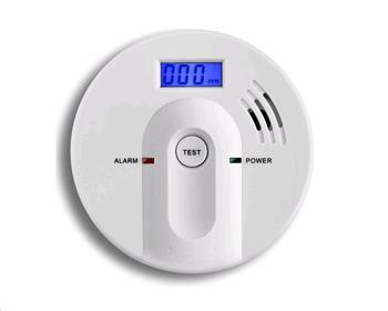 Detektor oxidu uhelnatého s alarmem, hlásič Hutermann ALARM CO-603 EN50291