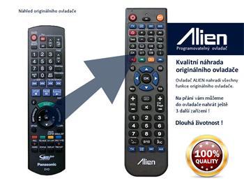 Dálkový ovladač ALIEN Panasonic N2QAYB000124