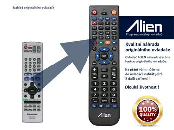 Dálkový ovladač ALIEN Panasonic EUR7720KLO