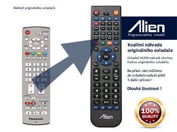 Dálkový ovladač ALIEN Panasonic EUR7651090
