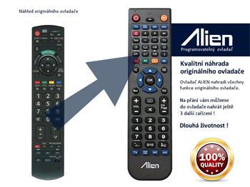 Dálkový ovladač ALIEN Panasonic N2QAYB000354