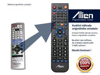 Dálkový ovladač ALIEN Panasonic EUR7720KSO