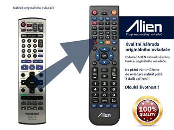 Dálkový ovladač ALIEN Panasonic EUR7721KHO