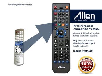Dálkový ovladač ALIEN Panasonic EUR7659Y40