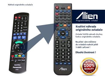 Dálkový ovladač ALIEN Panasonic N2QAYB000463