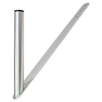 Držák antény pod střešní tašku 450 mm vysoký,průměr 35 mm zinek Galva