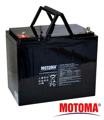 Baterie olověná 12V/75Ah MOTOMA pro elektromotory