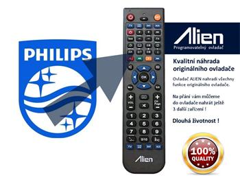 Dálkový ovladač Philips 161622TK