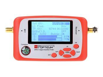 OPTICUM OPS 4 Digital LCD vyhledávač družic DVB-S/S2