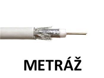 Koaxiální kabel GoSAT RG-6U / 6,8 mm - metráž