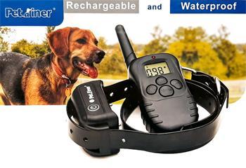 Obojek elektronický výcvikový DOG CONTROL T05A s LCD a plynulou regulací, vodotěsný