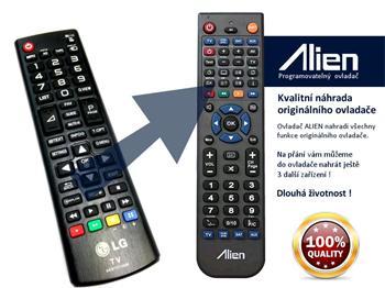 Dálkový ovladač ALIEN LG AKB73715686