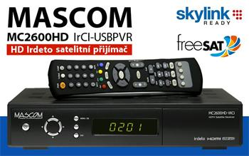 Mascom MC 2600 HD iRCI-USB PVR (Skylink Ready)