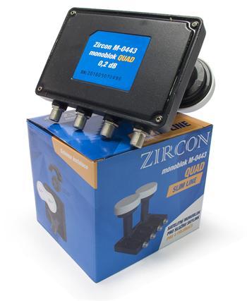 Monoblok Quad Zircon M-0443 Skylink Slim line