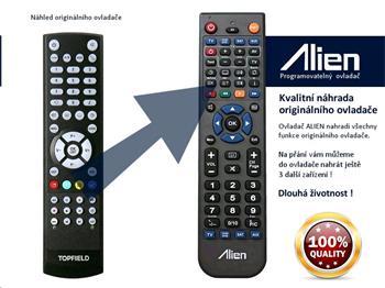 Dálkový ovladač ALIEN Topfield 2060