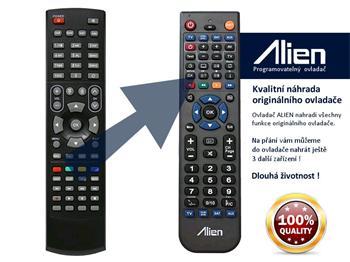 Dálkový ovladač ALIEN AMIKO 8550 IR