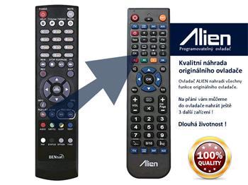 Dálkový ovladač ALIEN BENsat 290 IR