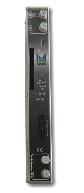 Alcad transmodulátor TT-211 DVB-S, S2 - DVB-T
