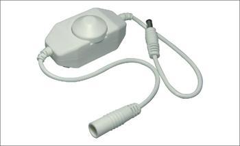 Otočný ovládač jednobarevných LED pásků - vypínač a stmívač