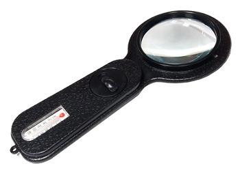 Lupa ruční BEST BST-108 s LED světlem a kompasem