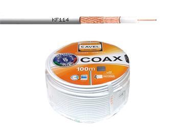 Kabel koaxiální CAVEL KF114 / 100m / 6,6 mm