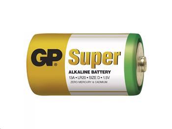 Alkalická baterie GP Super LR20, D