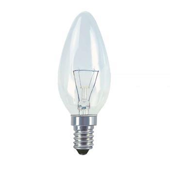 Žárovka otřesu vzdorná E14 60W svíčková