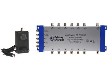 Multipřepínač Technisat 5/12 HD Cyfrowy Ekspert
