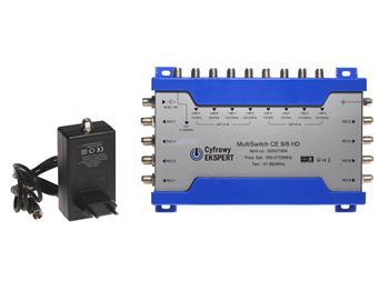 Multipřepínač Technisat 9/8 HD Cyfrowy Ekspert