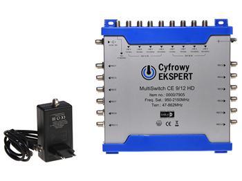 Multipřepínač Technisat 9/12 HD Cyfrowy Ekspert