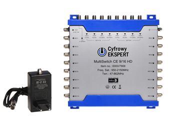 Multipřepínač Technisat 9/16 HD Cyfrowy Ekspert