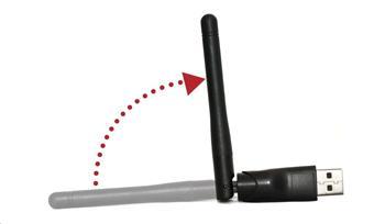 Wi-Fi Dongle 2,4GHz adaptér Ferguson W03 s anténou pro Ferguson Ariva