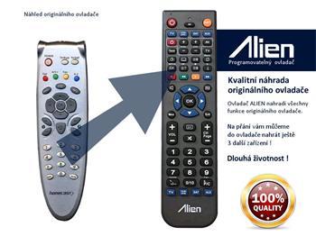 Homecast dálkový ovladač S 3000 CR, CICR, CI, FTA - náhrada