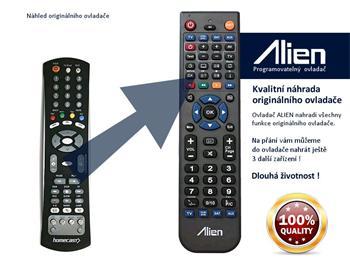 Dálkový ovladač ALIEN Homecast HS 8100, 9000 CI PVR - náhrada