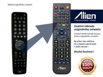 Dálkový ovladač ALIEN VU+ SOLO