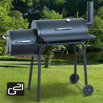 Gril zahradní na dřevěné uhlí G21 BBQ small