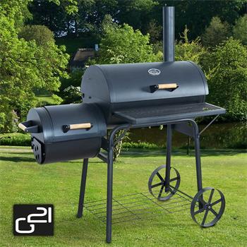 Gril zahradní na dřevěné uhlí G21 BBQ big