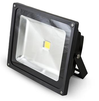 LED Reflektor 50W teplá bílá 3517lm černý G21