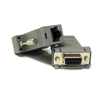 Redukc RS232/RJ45 LAN konektor (2ks)