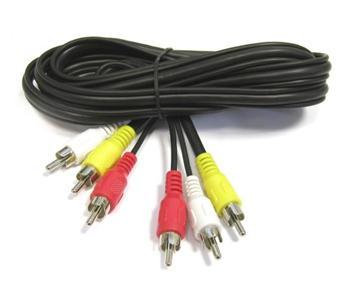 Kabel 3x CINCH - 3x CINCH 10m