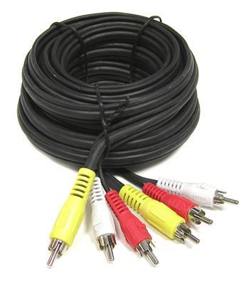 Kabel 3x CINCH - 3x CINCH 3m