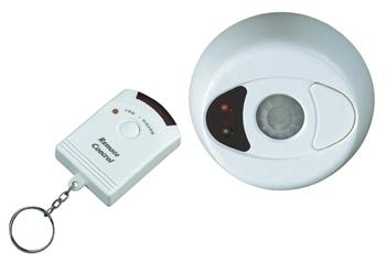 Stropní alarm 360° s dálkovým ovládáním