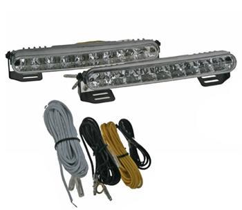 Světla pro denní svícení LED DRL mini 1818, homologace