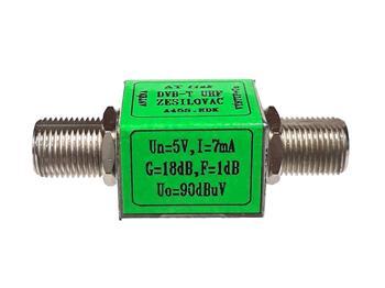 Zesilovač ATlink F-F 21/20dB - 5/12V - 90/100dBµV