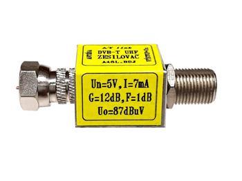 Zesilovač ATlink FF-F 12/14dB - 5/12V - 87/97dBµV