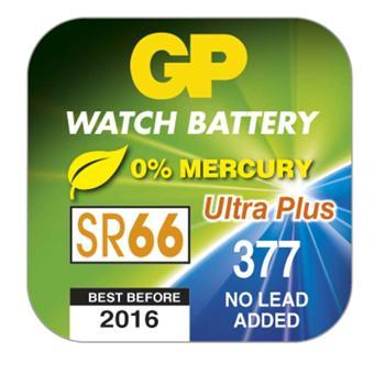 Knoflíková baterie do hodinek G4 GP 377F Ag, krabička