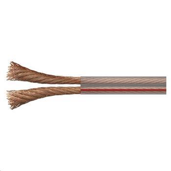 Kabel dvojlinka 2x2,5mm / 100m / průhledná